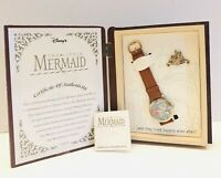 Disney The Little Mermaid Fairy Tale Watch Collection Limited Ed #772 New In Box