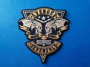 Avenged Sevenfold (a) Patch Sew / Iron On Music Festival Embroidered Badge