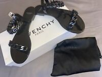 GIVENCHY Rubber Chain-Link Sandals