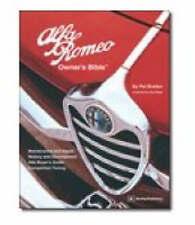 NEW Alfa Romeo Owner's Bible by Pat Braden