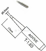 AOYUE T-1.2LD Soldering Iron Tip Chisel Type AOYUE ATTEN Lukey Pro/'sKit Stations