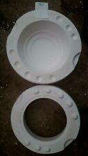 ceramic mold, plain bowl deep