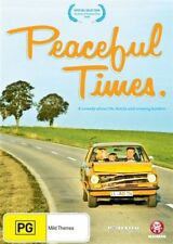 Peaceful Times (DVD, 2011)--FREE POSTAGE
