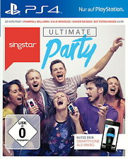 SONY PS4 SingStar: Ultimate Party PlayStation 4 deutsch OVP Smartphone = Mikro !