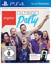 PS4 Karaoke Spiel SingStar: Ultimate Party  dt. Version NEUWARE