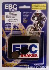 Apse / Zoom / Apollo / Shockwave EBC Resin Mountain Bike Disc Brake Pads CFA653