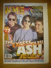 NME 1996 JUNE 29 ASH BLUETONES KULA SHAKER SEX PISTOLS