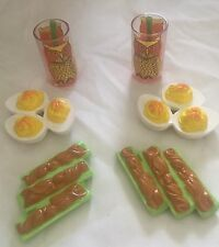 American Girl Doll Julie Snack BeForever Food Accessories For Two Partial Set