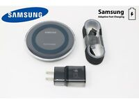 OEM Samsung Wireless Fast Charge Pad For Note 9/8/5, s9/s7/s8, iPhone 8,X,XS Max