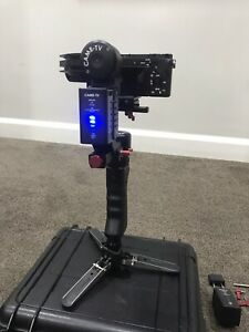 Came TV Optimus 3 Axis Gimbal With Stand, Dual Grip and Hard Case.
