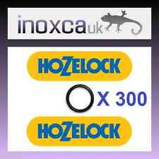 "300 X HOZELOCK 0.5"" GARDEN HOSE MALE TAP CONNECTOR RUBBER O-RING SEAL SPARES KIT"