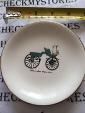 THE HARKER POTTERIES CO. MADE USA   SELDEN'S MOTOR WAGON  PLATE 4 1/2""