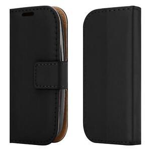 For Nokia 105 (2019) V5 NANA Slim Premium Leather Black Wallet Phone Case Cover