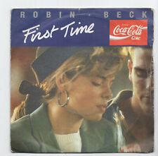 (B576) Robin Beck, First Time - 1988 - 7 inch vinyl