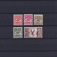 DANZIG GERMANY 1924, Mi#202-206, CV 220€, MNH