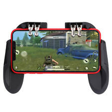 Six-Finger Mobile Phone Game Controller Cooling Fan Gamepad for iOS Android PUBG