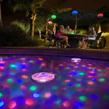 Underwater SpaTub Lamp New Aqua Glow Bar Swimming Pool Decor LED Floating Light