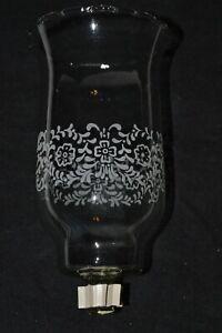 HOME INTERIORS GLASS VOTIVE SHADE 1198-BL