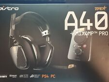 ASTRO A40 TR HEADSET & MIXAMP PRO TR Dolby 7.1 Surround for Xbox One,PC, Mac PS4