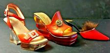 Just The Right Shoe Orange Heels! For Those Who Collect by Color