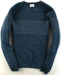 Lacoste Pullover Sweeater Grau Gr. S