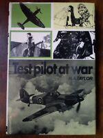 Test Pilot at war - Taylor *Good Hardback - not ex-library*