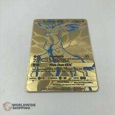 Carte Pokemon Metal Gold Xerneas / GX Full Art Card Fan Made / EX Custom Cards