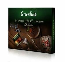 Greenfield Tee Pyramid Collection 60Btl Geschenkbox гринфилд чай Набор пирамидки