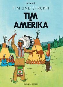 Tim und Struppi von Hergé * Farbfaksimile * Band 2: Tim in Amerika * Neu
