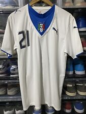 Puma Italy Adrea Pirlo Away Jersey / shirt World Cup 2006 sz M MINT