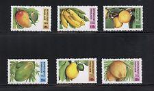 Togo 1996  #1743-8  flora fruit bananas peaches  6v.  MNH  I387
