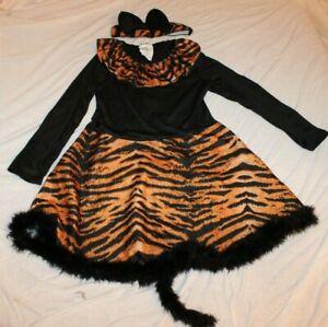 California Costume Little Cat Leopard w/ Tail Halloween Costume Child Medium