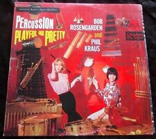 CHEESECAKE LP Percussion Pretty & Playful~Bob Rosengarden/Phil Kraus