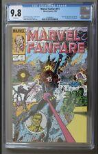 Marvel Fanfare #11 CGC 9.8 First Appearance Iron Maiden Black Widow.