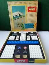 Vintage and rare Lego no 306.A Garage with 2 VW Beetles in the original box.1958