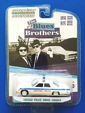 2016 Greenlight THE BLUES BROTHERS CHICAGO POLICE 1974 DODGE MONACO - mint card!