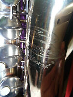 Buescher Aristocrat Tenor Saxophone New Pads Goldentone Mouthpiece