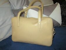 Vintage 70's Cartier Panthere handbag Caramel Patent with panther lock GR8 cond.