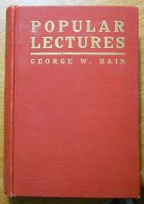 Wit Humor Reason Rhetoric Prose Poetry & Story Woven Into Eight Popular Lectures