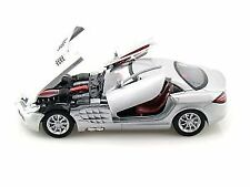 Motormax Scala 1 24 Mercedes-benz SLR McLaren metallico Die-cast Model (t8o)