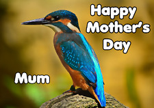 kingfisher Happy Mother's Day Card chmd183 A5 Personalised Greetings