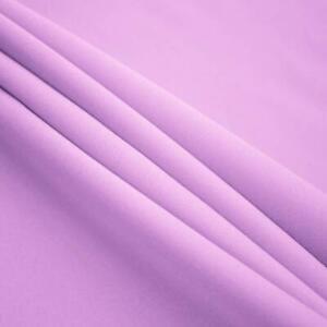 Lavender Poplin Fabric By The Yard_ High Quality Solid Poly Poplin_ ''60 Width