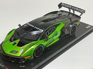 1/18 MR Collection Lamborghini Essenza SCV12 Lunch version Green Carbon base