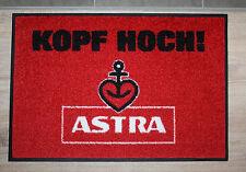"Astra Bier Fußabtreter Fußmatte ""Kopf Hoch !"" Kiez Hamburg Pauli"