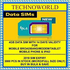 OPTUS 4GB DATA SIM CARD+4G+STANDARD/MICRO SIZE AVAIALBLE+BULK QTY AVAILABLE