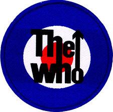 THE WHO - Patch Aufnäher - logo target - neu