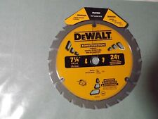 Dewalt Construction 7-1/4-in 24T Segmented Carbide-Tipped Steel Dw3578Lx (6)