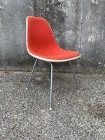 Herman Miller Eames Upholstered Fiberglass Chair