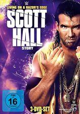 3 DVDs *  WWE - THE SCOTT HALL STORY   # NEU OVP &