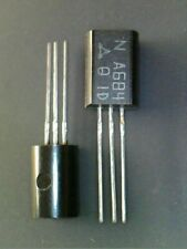 2SA684 A684 (Q) NPN output stage of portable radio transistor NOS. Matsushita